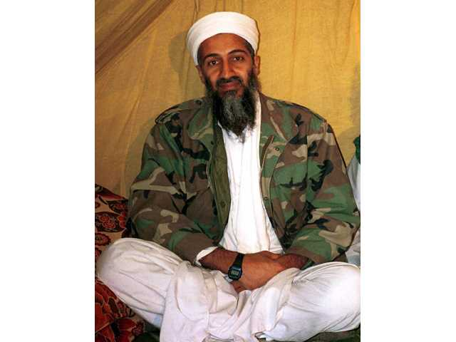 This undated file photo shows al Qaida leader Osama bin Laden. A former Navy SEAL's insider account of the raid that killed Osama bin Laden contains classified information, the Pentagon said Tuesday.