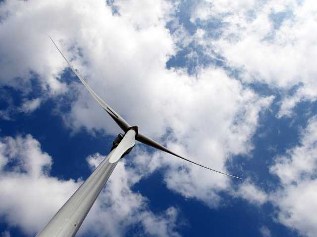 An Aliade 150 wind turbine in France. Two new scientific studies say Earth has more than enough wind to power the world.