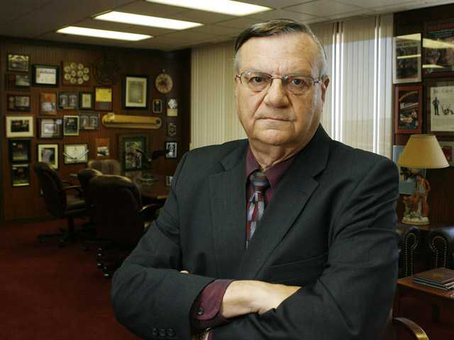 Maricopa County Sheriff Joe Arpaio in his office in Phoenix.
