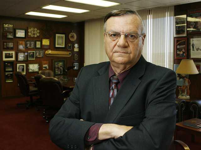 Maricopa County Sheriff Joe Arpaio in his office in Phoenix.