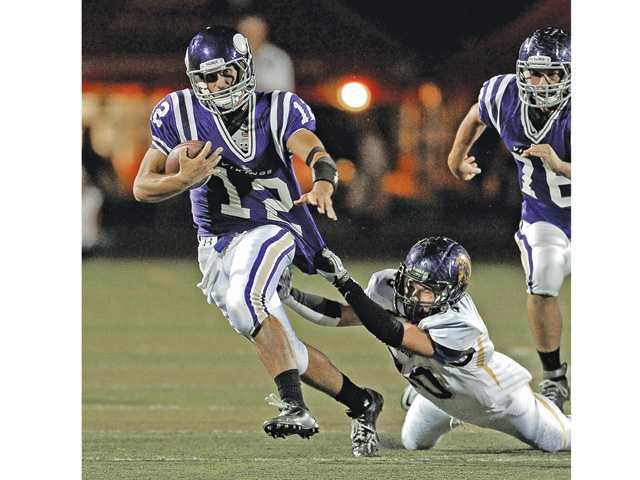 Prep football: Valencia finds its old form