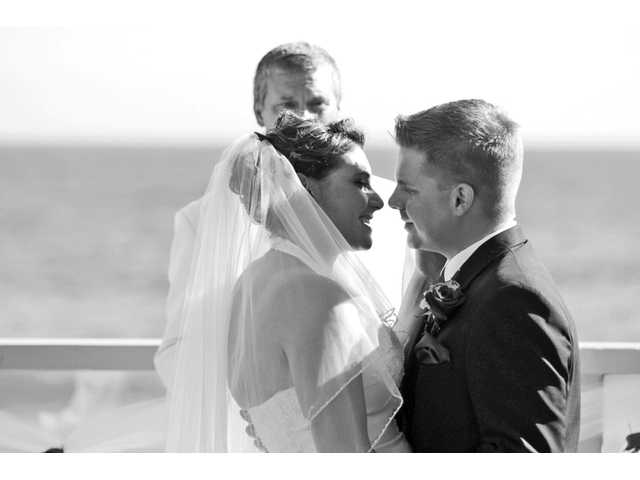 Nicole and Matthew Keith were married at the Malibu West Clubhouse on June 30.