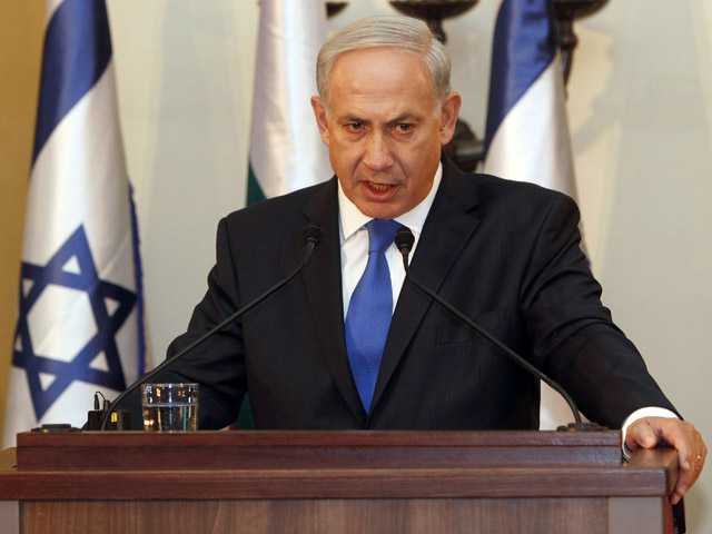 "Israeli Prime Minister Benjamin Netanyahu is making a direct appeal to U.S. voters to elect a president willing to draw a ""red line"" with Iran."