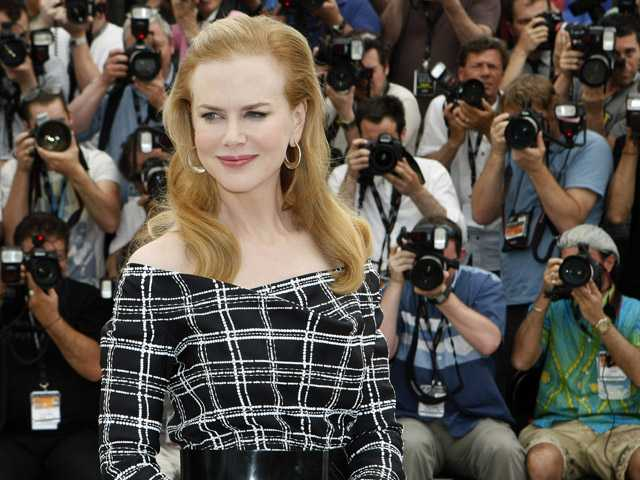 In this May 25 photo, actress Nicole Kidman poses for photographers at the Cannes international film festival France.