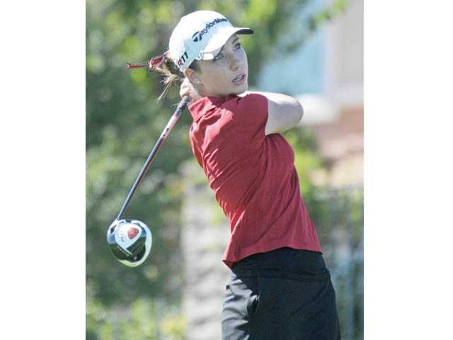 Hart senior Jamie Corr is one of the Foothill League's top returning golfers this season.