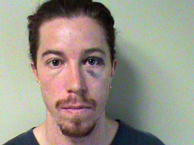 This photo provided by the Metropolitan Nashville Police Department shows two-time Olympic gold medalist snowboarder Shaun White. White was charged with vandalism after an employee at a Nashville hotel.