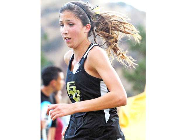 Golden Valley senior Chelsey Totten was voted the best girls runner in the Foothill League by the league's coaches.