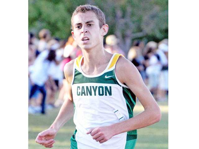 Canyon senior Zach Wims is one of the Foothill League's top returning runners this season.