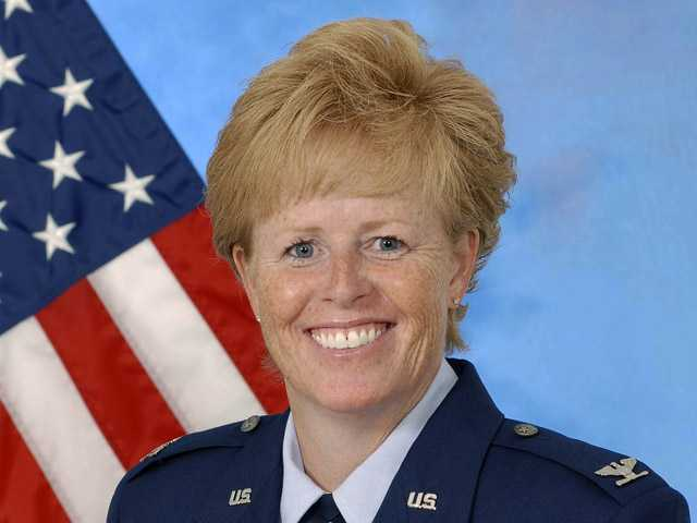 Woman takes helm following Air Force sex scandal