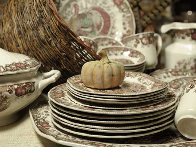 It's the time of the year to get ready for fall entertaining with your special dinnerware.