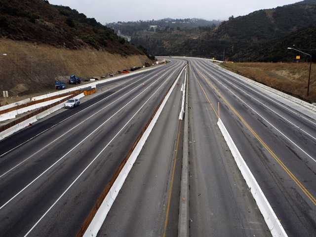 During the first so-called Carmageddon, prompted by the weekend closure of this key 10-mile stretch of Interstate 405 in 2011,  motorists heeded warnings and stayed away from the area until the road reopened.