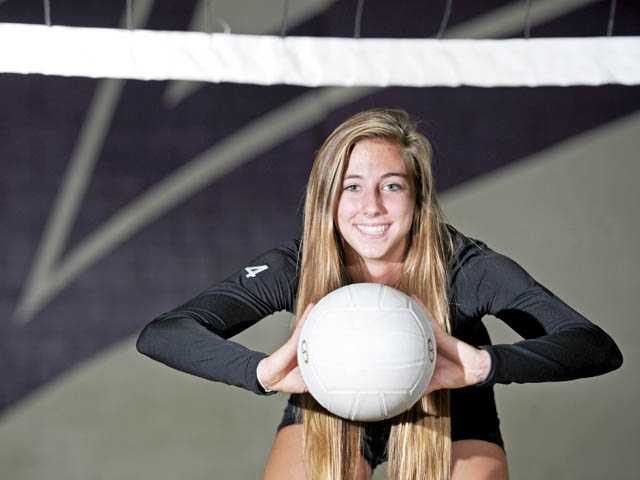 In July, Valencia senior Delaney Knudsen made a verbal commitment to play beach volleyball at Pepperdine University.