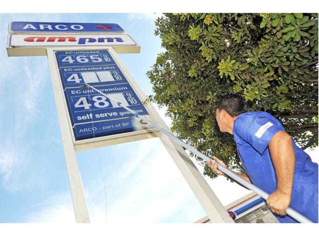Gas prices reaching record