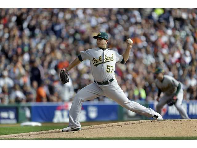 MLB: Milone solid in first postseason start, but A's fall short