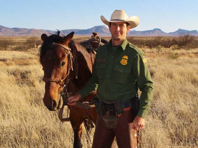 In this undated photo, Border Patrol Agent Nicholas Ivie is seen.