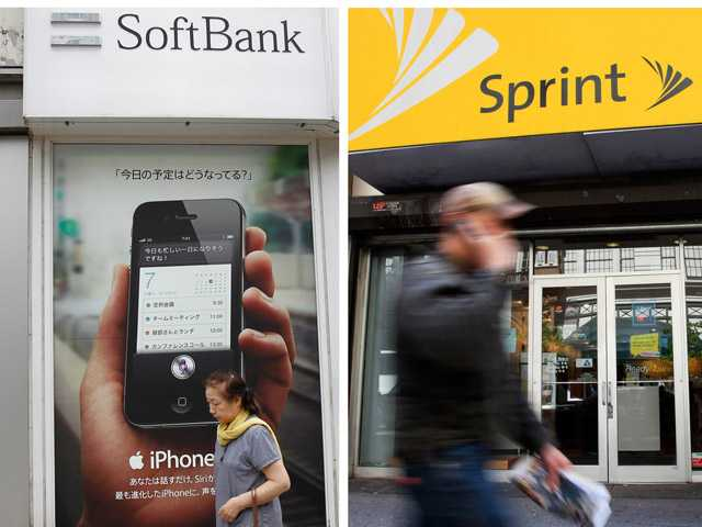Japanese cellphone company Softbank Corp. was in talks Thursday about taking a substantial ownership stake in struggling U.S. carrier Sprint Nextel Corp.