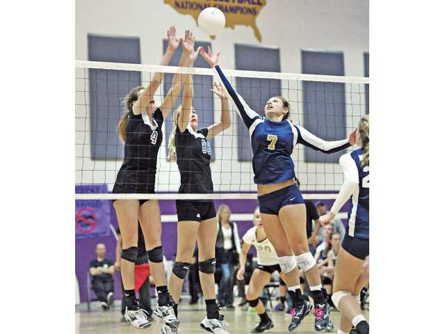 Foothill volleyball: Make some room
