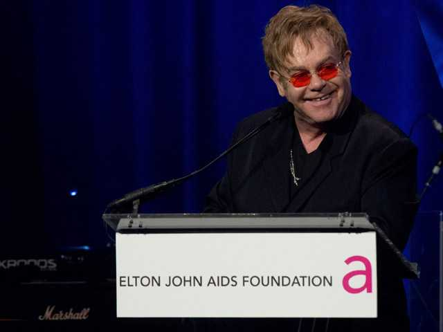 Elton John remembers Ryan White at his AIDS gala