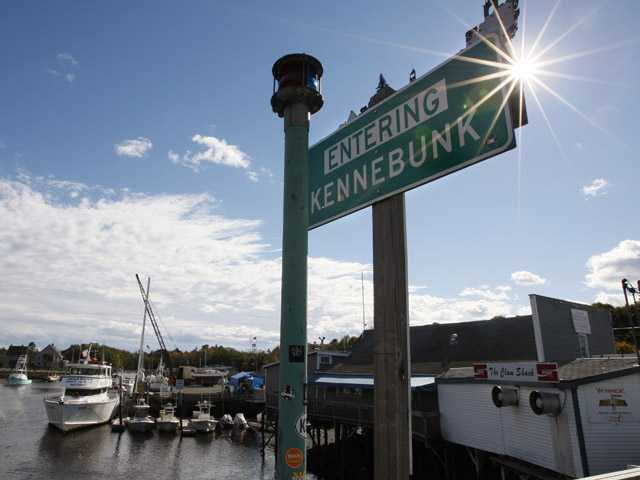 A marina in Kennebunk, Maine. More than 100 men accused of paying a fitness instructor for sex were laying low after police began releasing their names.