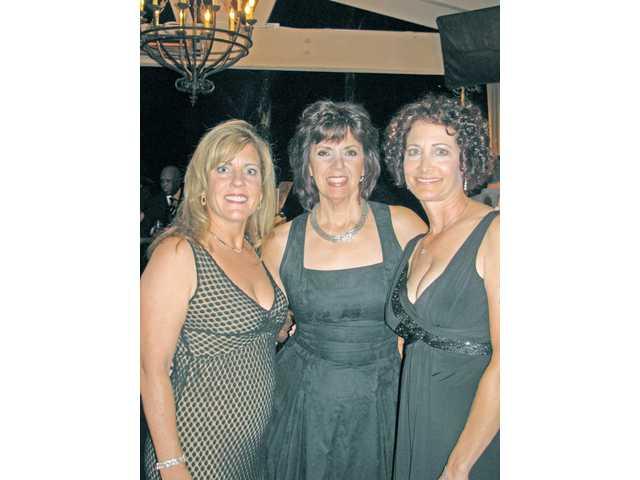Valerie Chase, Sue Reynolds and Karen Schnur of Soroptimist International of Greater Santa Clarita Valley.