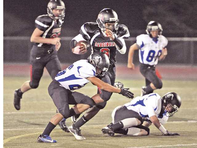 Prep football: Costly miscues