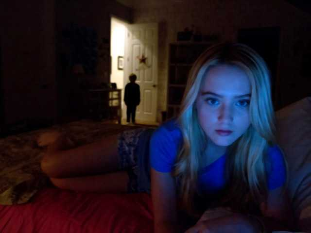 "This film image released by Paramount Pictures shows Kathryn Newton in a scene from ""Paranormal Activity 4."