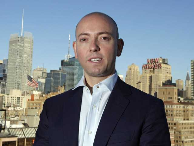 In this Tuesday photo, Greg Smith, the former Goldman Sachs banker, poses for a photograph in New York.