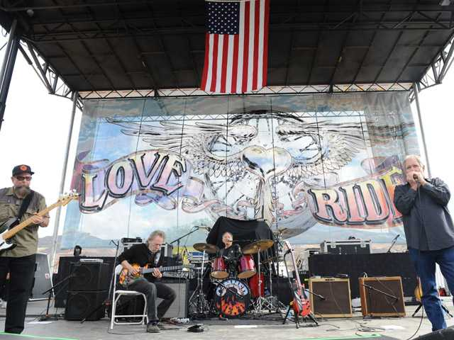 The band Canned Heat performs at the 29th annual Love Ride at Castaic Lake Recreation Area. (Jayne Kamin-Oncea/For The Signal)