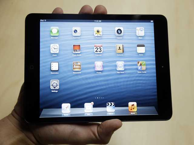 The iPad Mini is shown in San Jose.