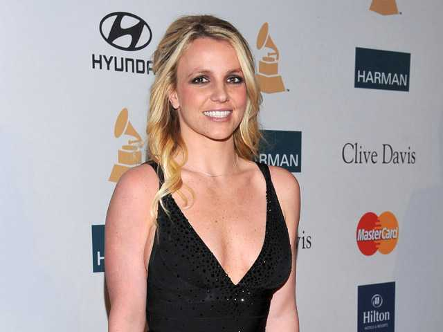 In this Feb. 11 photo, singer Britney Spears arrives at the Pre-GRAMMY Gala & Salute to Industry Icons with Clive Davis honoring Richard Branson in Beverly Hills.