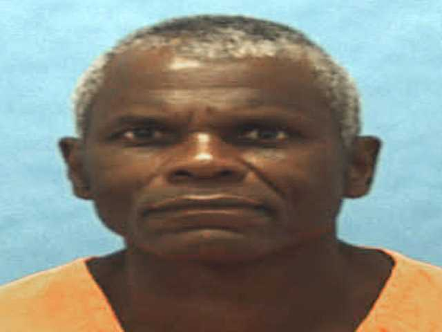 This undated photo provided by the Florida Department of Corrections shows death-row inmate John Errol Ferguson.