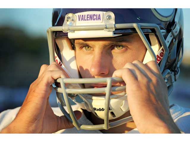 Valencia quarterback Sean Murphy is having a breakout season for Valencia.