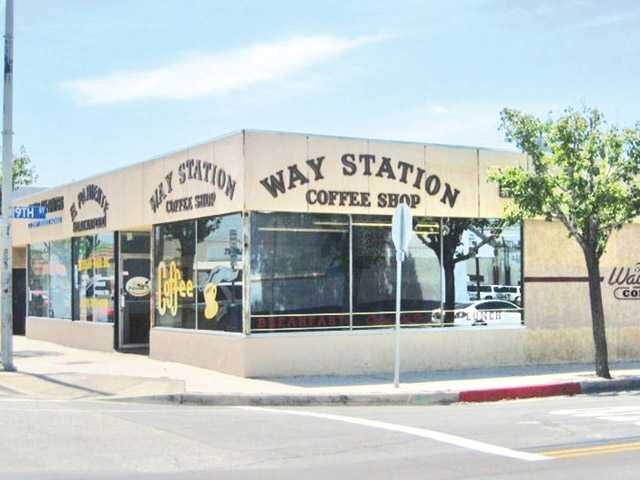 Way Station Coffee Shop Before