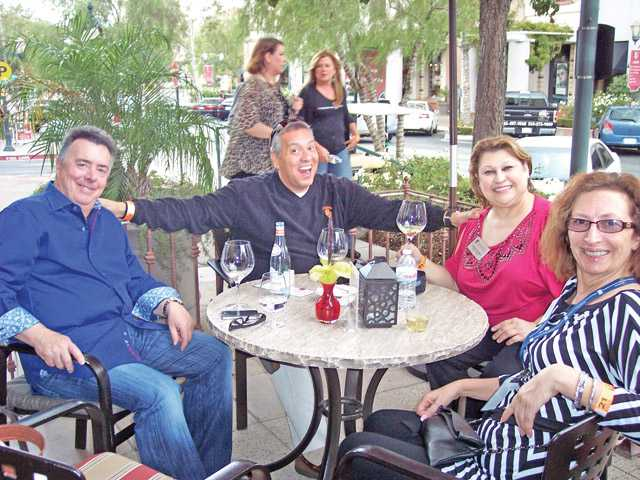 Left to right, Guy LeLarge, Robert and Darlene Gandara and Jo Ann Vindigni.