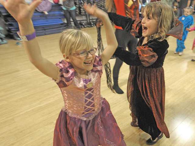 Dance tricks and treats at YMCA Harvest Festival