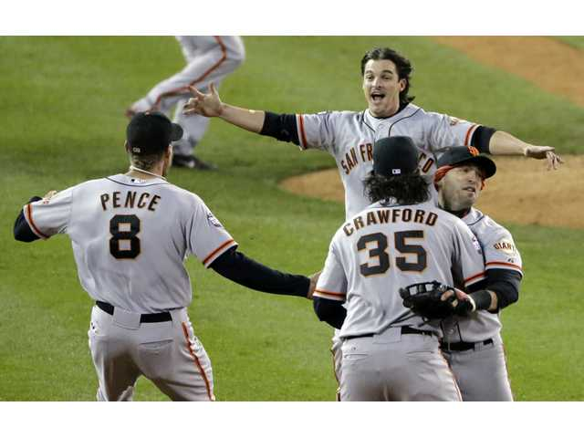 World Series: Giants sweep Tigers for the title