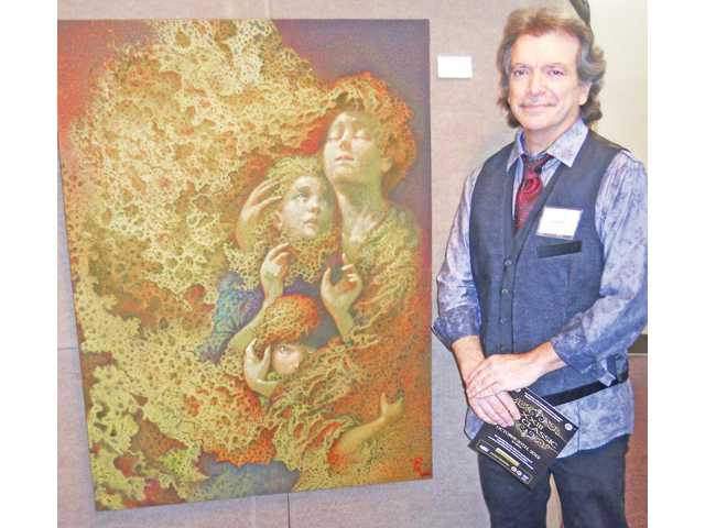 The city of Santa Clarita Excellence in Arts Award was presented to Rick Moore for Precious Pieces of Sweet Shattered Dreams.
