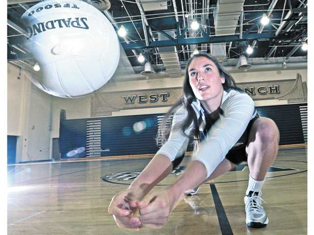 West Ranch senior Sarah McGough's experience come in handy this year for the Wildcats.