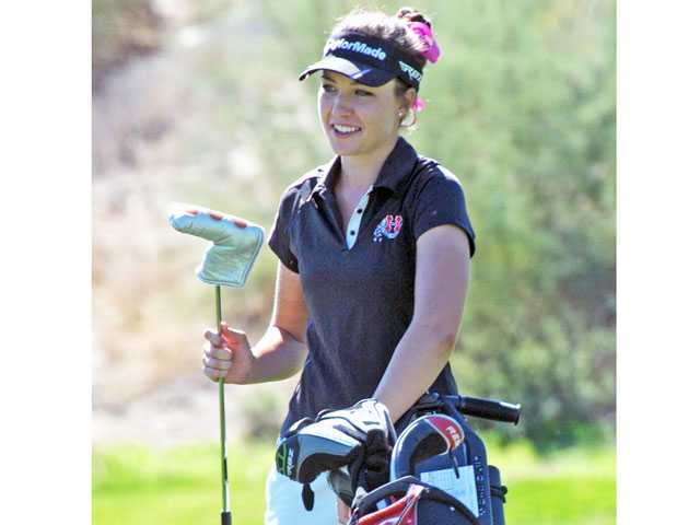 Hart High golfer Jamie Corr won the Foothill League's Most Valuable Player honor for the second time in her career. She had a six-stroke lead at the end of the season.