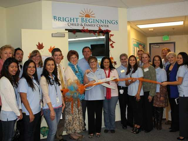 "Dignitaries attended the Child & Family Center's ""Bright Beginnings"" celebration opening on Wednesday."