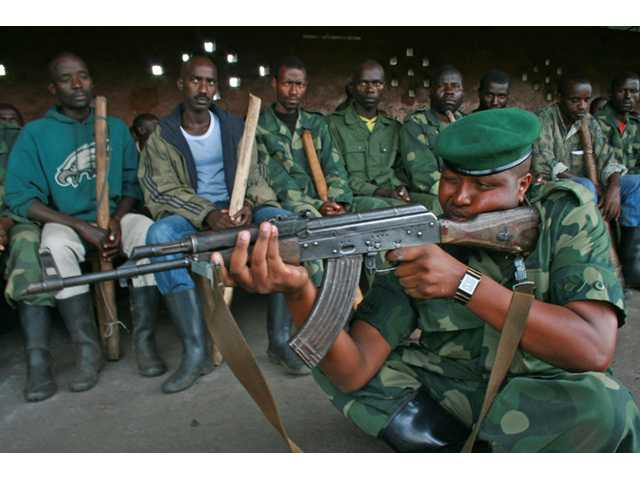Rebels in Congo reach door of Goma
