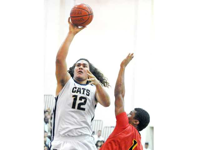 West Ranch basketball player Ako Kaluna