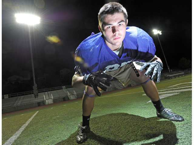 Valencia linebacker Anthony Costleigh leads Valencia with 91 tackles on the season.