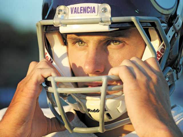 Valencia quarterback Sean Murhpy was named the Foothill League Player of the Year by the league's coaches after he led the Vikings to a Foothill League championship and appearance in the CIF-SS Northern Division semifinals.