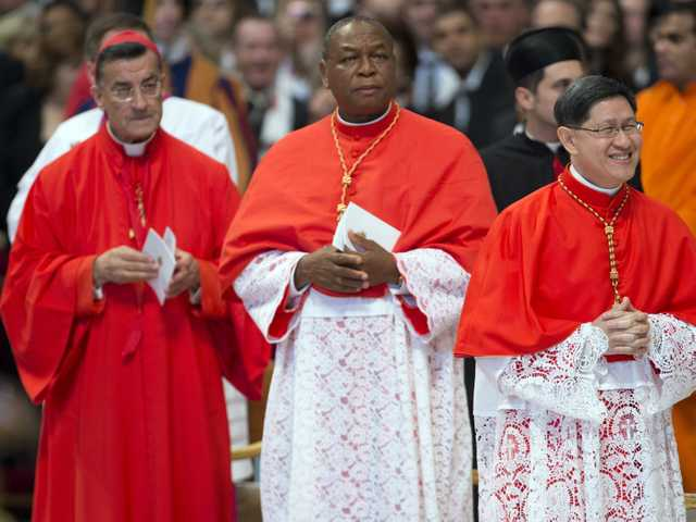 Pope elevates 6 cardinals to choose successor