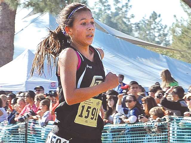 Golden Valley's Bianca Tinoco finishes seventh in Division II.