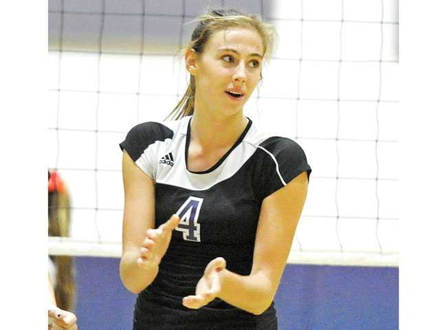 Valencia senior Delaney Knudsen was voted the 2012 Foothill League Player of the Year by the league's coaches.