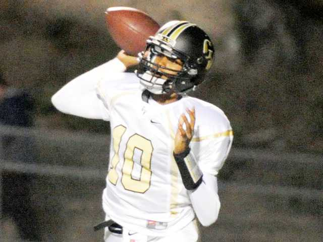 Golden Valley quarterback Robert Phillips.