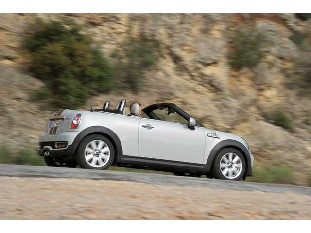 The city approved a permit for the Mini Cooper of Valencia dealership. A Mini Cooper Roadster is seen above.