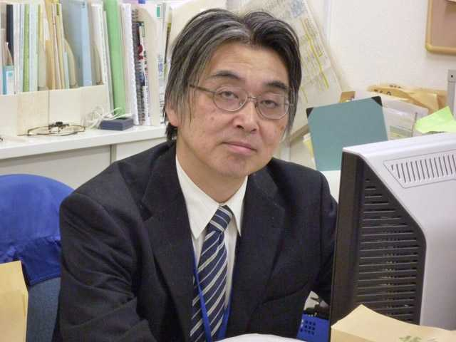 Kazuo Sakai, a member of the International Commission on Radiological Protection (ICRP), works at his office in Tokyo.